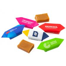 Krówki z pomysłem z Milanówka – własny nadruk, logo