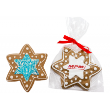 Large Decorated Star Cookie