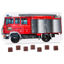 Fire Truck Advent Calendar