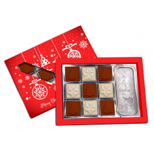 Christmas Tic Tac Toe Chocolate Box