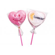 Heart Lollipop with Printed Wafer 11.23