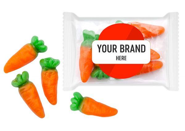 Żelki marchewki