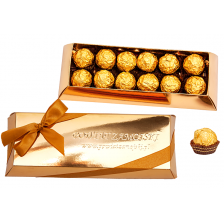 Gold Chocolate Box 07.45