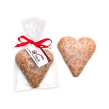 Heart-shaped Gingerbread with Greeting Card  09.55